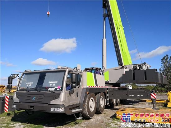 中联重科QAY300出口阿根廷 成南美最大吨位全地面起重机