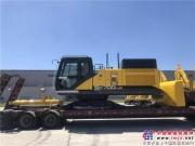 恭喜由住友建机唐山工厂自主生产的SH700LHD-5B顺利出库