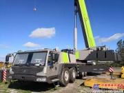 壮哉我的QAY300!中国出口南美的最大吨位全地面起重机 性能和颜值双双获赞!