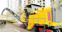 徐工全新XM200KII铣刨机助力济南市道路建设
