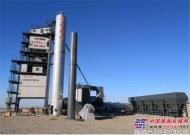 美通重机MTLB3000型沥青搅拌站助力新疆塔城建设