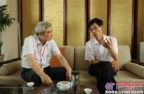 中国砂石协会会长胡幼奕先生到访南方路机  共同探讨砂石骨料绿色环保之路