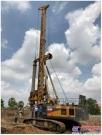 国内出口最大吨位自制底盘旋挖钻机徐工XR460D 助力金边紫晶壹号项目