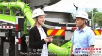 """致富神器37米泵车快速变身""""车载泵"""" 乌克兰美女主持为中国制造点赞!"""
