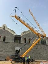 徐州久发:移动塔吊型号选择及塔吊安装前注意事项