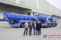 利勃海尔三台新的移动式起重机交付匈牙利Ács-Gép公司