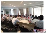 菏泽城建集团到访南方路机搅拌学院,互话搅拌人才与技术交流
