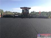 中大二次搅拌原理 抗离析摊铺机京藏高速四改八18.75米超宽度沥青常态化施工