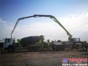 中联重科63台设备高效施工 助巴最大高速公路提前15月完工