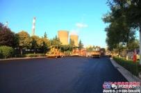 陕建机:机械化工程公司柳新路大修工程文明施工重环保