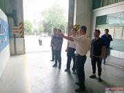 徐州泉山区科技局领导莅临盾安重工调研指导
