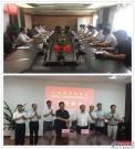 王伟炎总经理带队到国机重工长起公司现场办公
