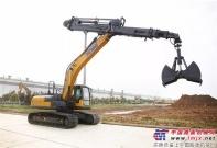 徐工:国内首台21吨伸缩臂挖掘机成功下线
