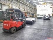 东风汽车再次与比亚迪叉车合作,近百台新能源叉车将实现交付