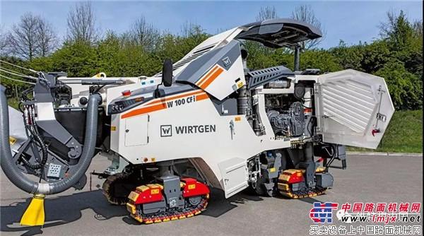 维特根紧凑型铣刨机集合 机动灵活、产量高