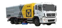 徐工X1新一代又添新品——首台12吨污水循环洗扫车成功下线