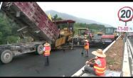 中大机械 - 4广乐高速16米整幅摊铺