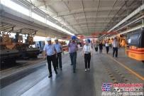 伊拉克油田服务公司等客商参观考察陕建机股份