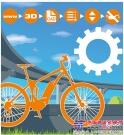 自润滑的igus 3D打印链轮实现电动自行车的静音骑行