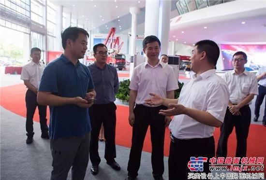 陕西西咸新区考察团到访三一:期待双方合作更深入
