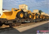 山东临工40余台装载机参与哈萨克斯坦公路建设