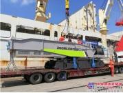 中国出口印尼最大吨位履带起重机出海 中联重科为千岛之国基建增热