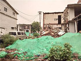 李杨所在的村庄正在进行拆迁