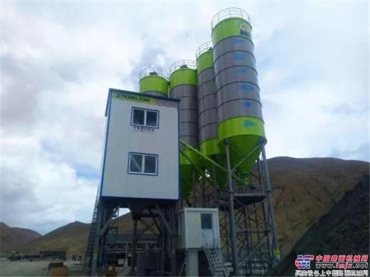 中联重科极光绿搅拌站助建大美西藏 揭秘海拔4300米的高原施工故事