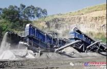 克磊镘采石场系列成品筛专为困难工况而生
