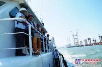 陕建机:公司领导走访调研平潭海峡公铁两用大桥施工现场