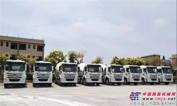 徐工:助力广东城建,轻量化混凝土搅拌运输车斩获两千万订单