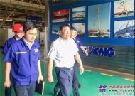 徐工:坚决走高质量发展道路!陆川总裁来公司考察调研