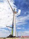 越过百座山丘 奔赴多个风场 中联重科800吨全地面有点忙!