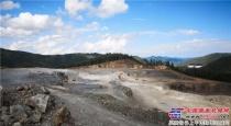 利勃海尔60吨级液压挖掘机助力中国矿山客户