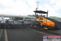 超赞!天顺长城SP1860-3型摊铺机征战济青高速显实力