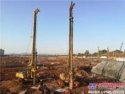 徐工旋挖钻机群助力革命英雄城市新建设