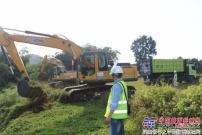"""助力中国高铁""""第一单"""",徐工挖掘机闪耀印尼!"""