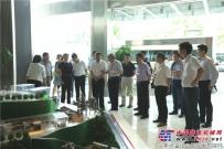 中国服务型制造示范城市评审专家组一行到南方路机考察调研