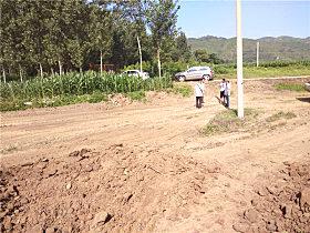 玉柴挖掘机工作场地