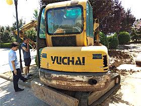 玉柴YC35-8小挖