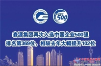 森源集团再次入选中国企业500强丨排名第369位,相较去年大幅提升102位