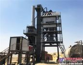 铁拓机械沥青搅拌设备落户中东地区