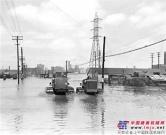 卡特彼勒1943年:齐心协力,抗洪筑坝