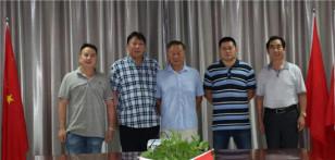 江苏路通筑路集团一一徐州市工程机械商会会长级单位董事长孟韶华到访徐州市工程机械商会