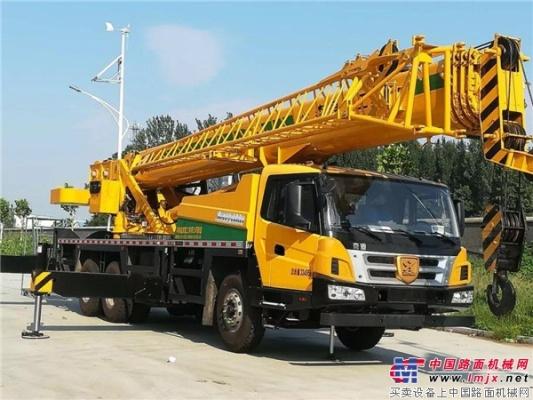 千锤百炼——森源新款25吨吊车3000多次检测,铸就匠心品质