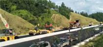 中大设备广吉高速公路施工频受关注