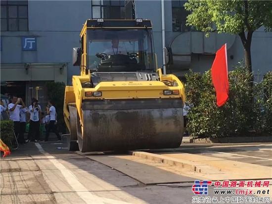 """宝马格助力南京市""""同力杯""""压路机操作工技能竞赛"""