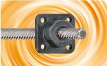 可快速调节且安静运行的igus新型免润滑丝杠螺母