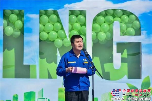 """徐工部队再现""""超级大单""""!缔造LNG装载机""""绿色军团"""""""