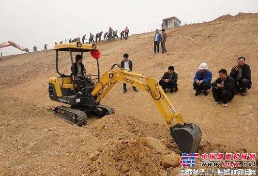 微挖市场进入快速发展时期